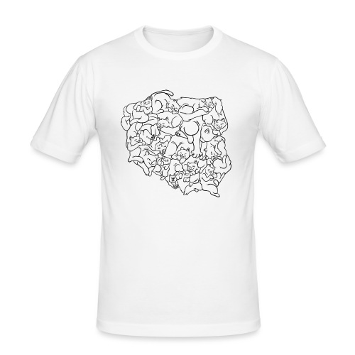 Kotowództwa - Obcisła koszulka męska