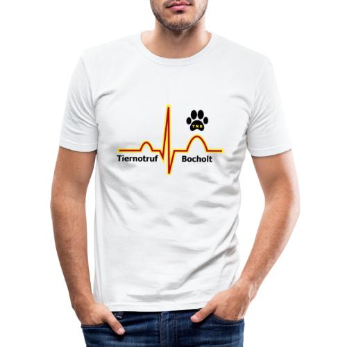 Tiernotruf Bocholt - Männer Slim Fit T-Shirt