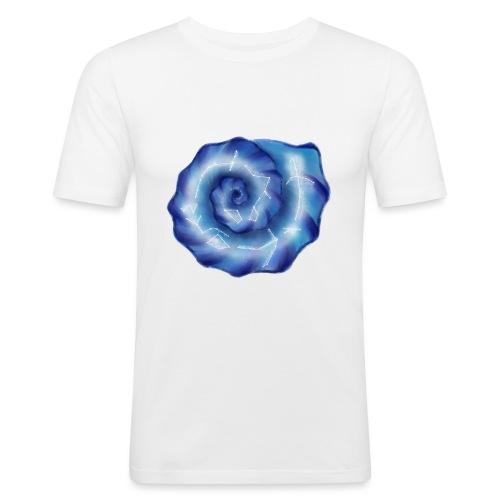 Galaktische Spiralenmuschel! - Männer Slim Fit T-Shirt