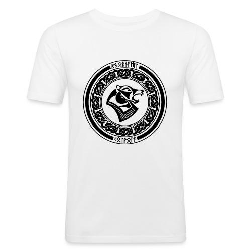 BjornfellRisingBlack - Miesten tyköistuva t-paita