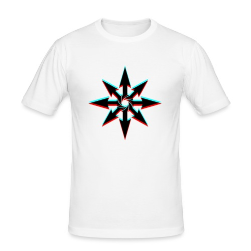 3dstern - Männer Slim Fit T-Shirt