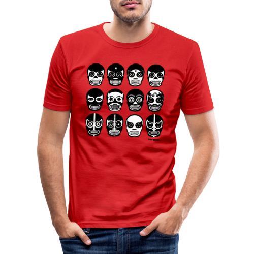 Hacienda lucha - Männer Slim Fit T-Shirt
