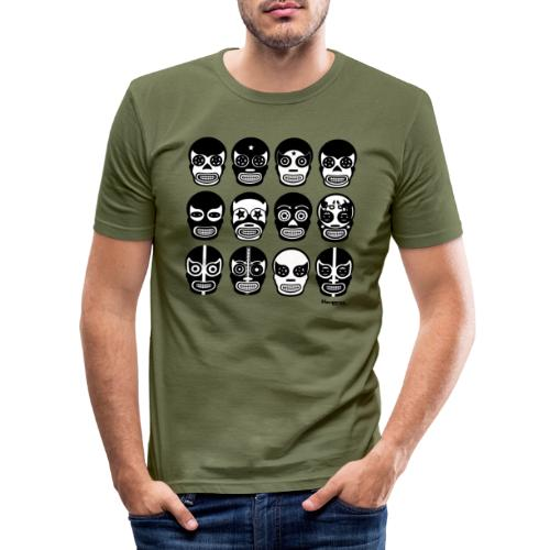 Hacienda lucha - Männer Slim Fit T-Shirt