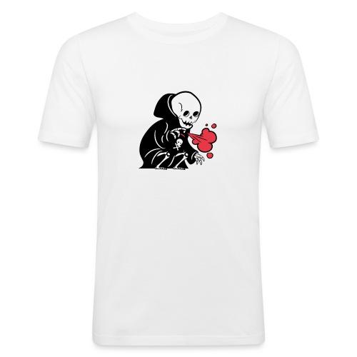 A.C.A.B la mort - T-shirt près du corps Homme