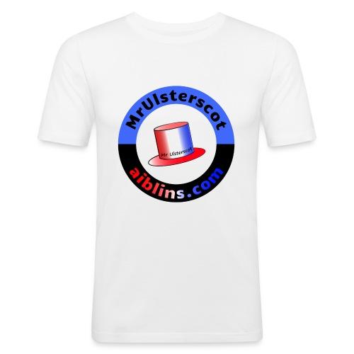 MrUlsterscot, Aiblins.com Logo - Men's Slim Fit T-Shirt