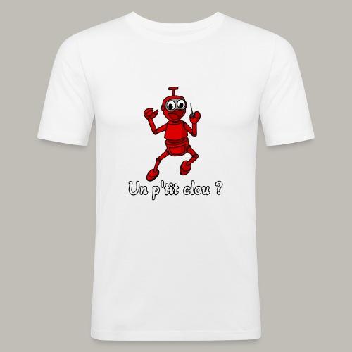 Back to 80's - T-shirt près du corps Homme