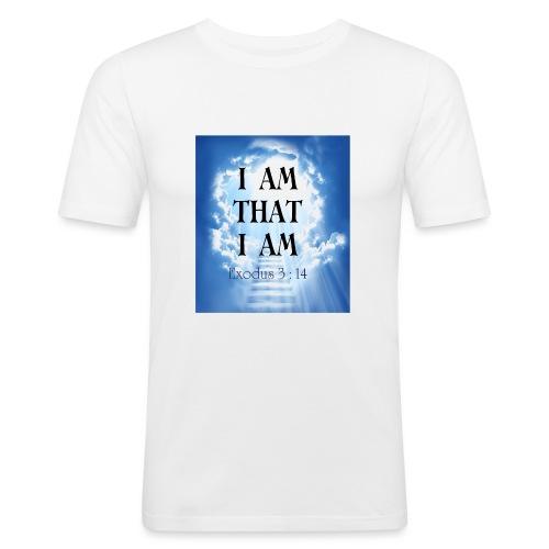 I AM THAT I AM - Men's Slim Fit T-Shirt