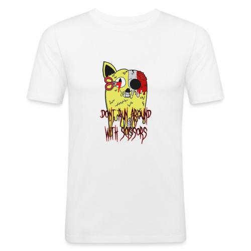 Dont Run Around With Scissors Original - Mannen slim fit T-shirt