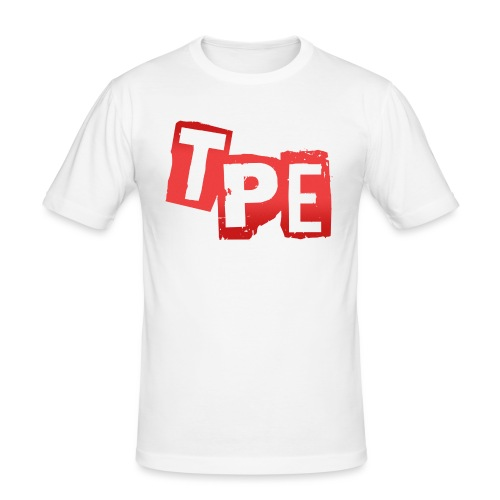 TPE T-shirt - Slim Fit T-shirt herr