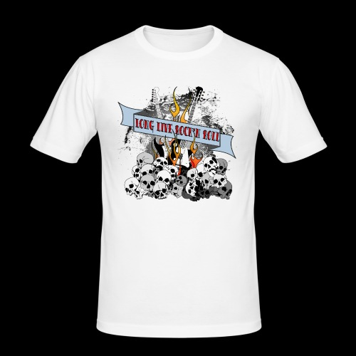 long live - Slim Fit T-shirt herr