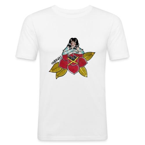 Lady Rose - Camiseta ajustada hombre