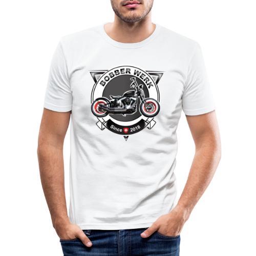 Bobber Werk - Männer Slim Fit T-Shirt