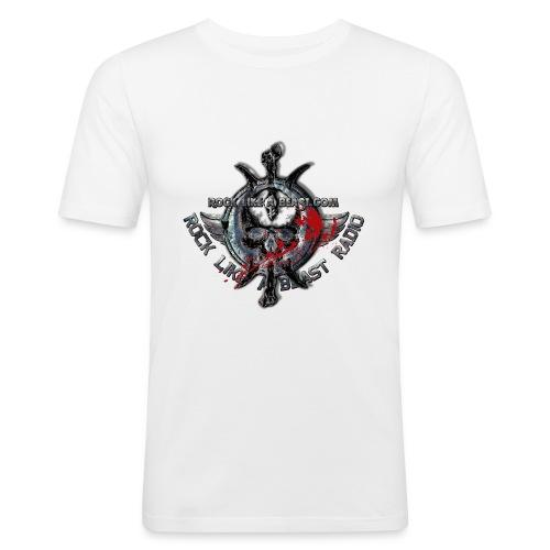 Blood Skull Logo - Slim Fit T-shirt herr