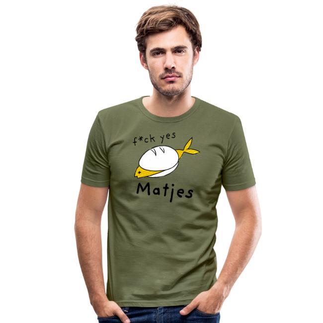 Ostfriesland Fun Shirt - F*ck Yes Matjes