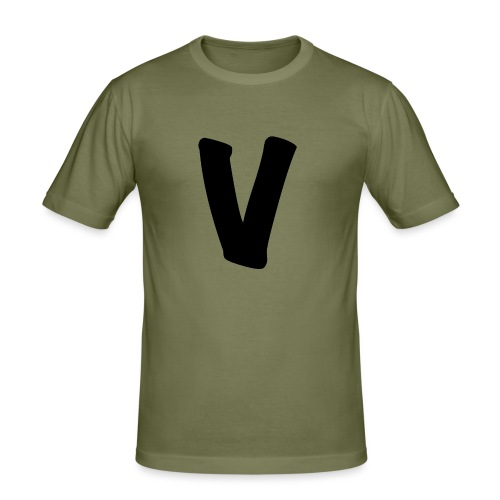 VinOnline shirt - Mannen slim fit T-shirt