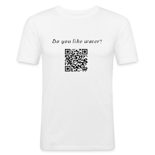 DoYouLikeWater - Maglietta aderente da uomo