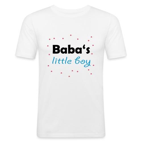 Baba's litte boy Babybody - Männer Slim Fit T-Shirt