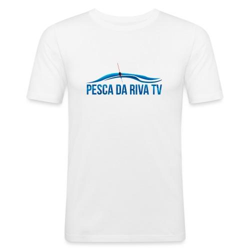 Pesca da riva TV - Maglietta aderente da uomo