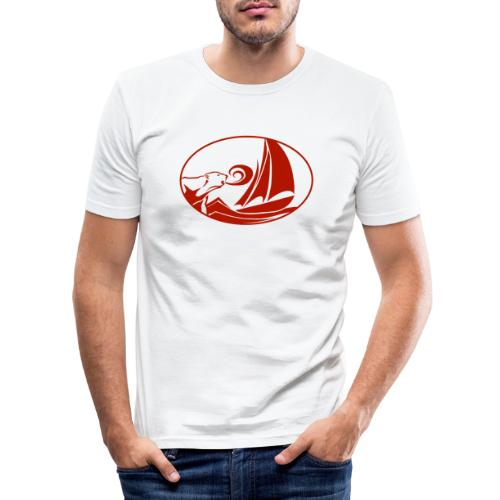 blauwassersegeln.at - Männer Slim Fit T-Shirt