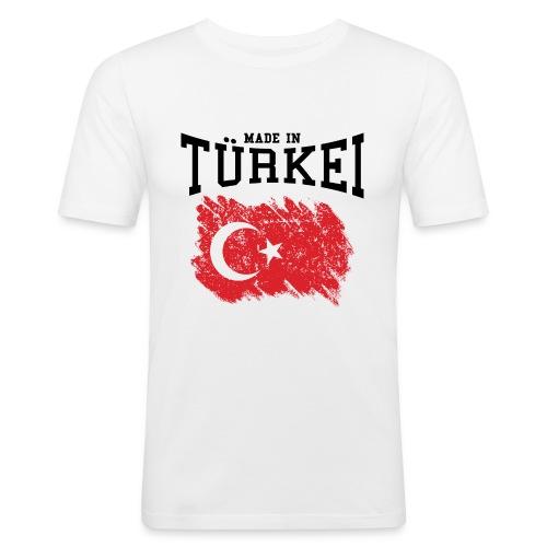 Made in Türkei - Männer Slim Fit T-Shirt