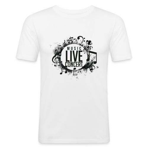 musica - Camiseta ajustada hombre