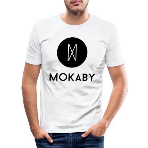 MokabyLOGO 34 - Männer Slim Fit T-Shirt