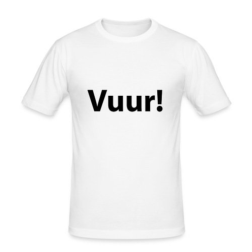 tshirt_PNG5431-png - Mannen slim fit T-shirt