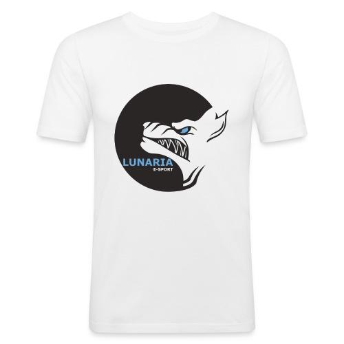 Lunaria_Logo tete pleine - T-shirt près du corps Homme