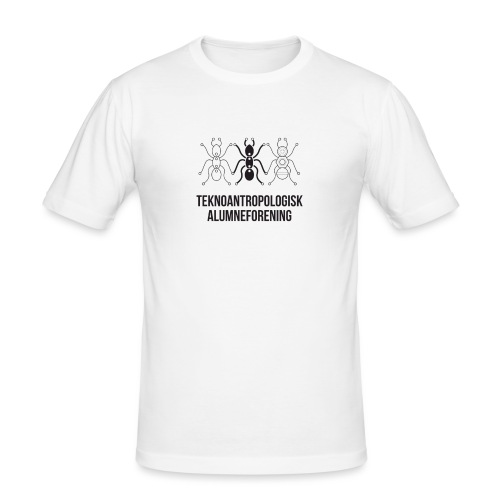 Teknoantropologisk Støtte T-shirt alm - Herre Slim Fit T-Shirt