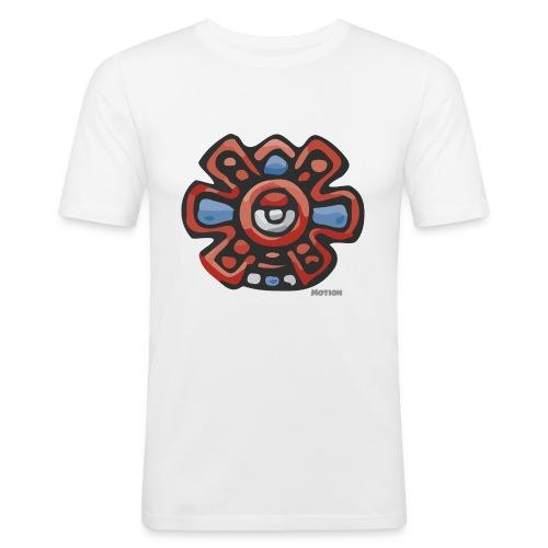 Aztec Motion Earth - Men's Slim Fit T-Shirt