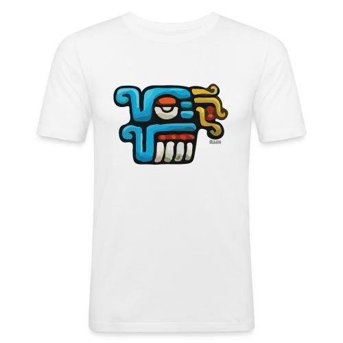 Aztec Icon Rain - Men's Slim Fit T-Shirt