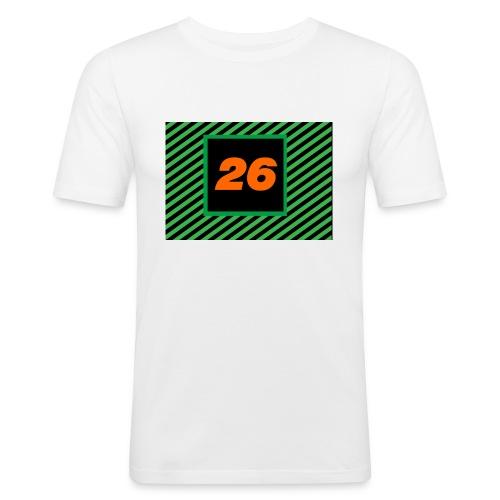 26Games Shirt - Mannen slim fit T-shirt