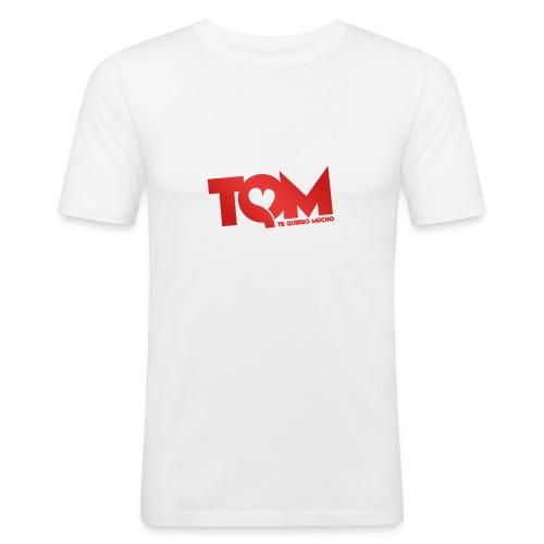 TQM- cappellino - Maglietta aderente da uomo
