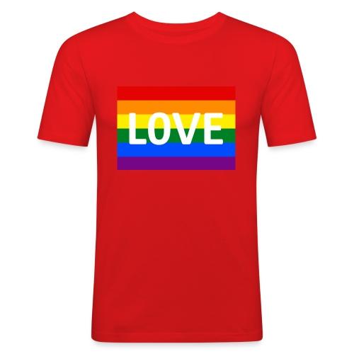 LOVE SHIRT - Herre Slim Fit T-Shirt