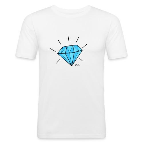 diamant-22466 - Maglietta aderente da uomo
