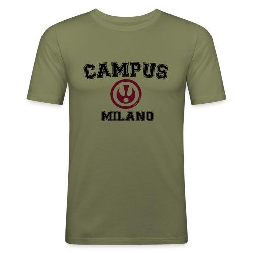 FITTICS MILAN CAMPUS - Men's Slim Fit T-Shirt