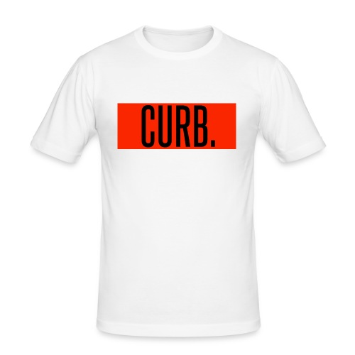 CURB red - Männer Slim Fit T-Shirt