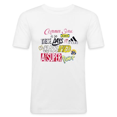 PHYK-logoja - Miesten tyköistuva t-paita