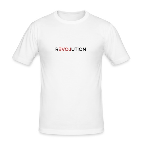 Revolution - Männer Slim Fit T-Shirt