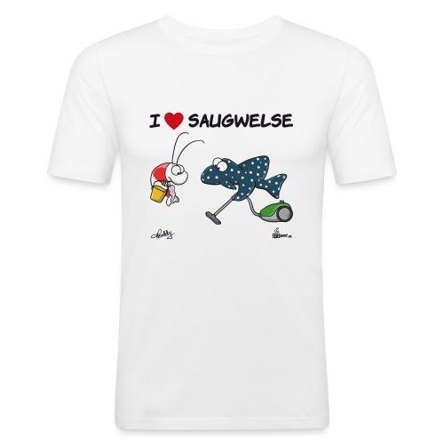 Saugwels - Männer Slim Fit T-Shirt