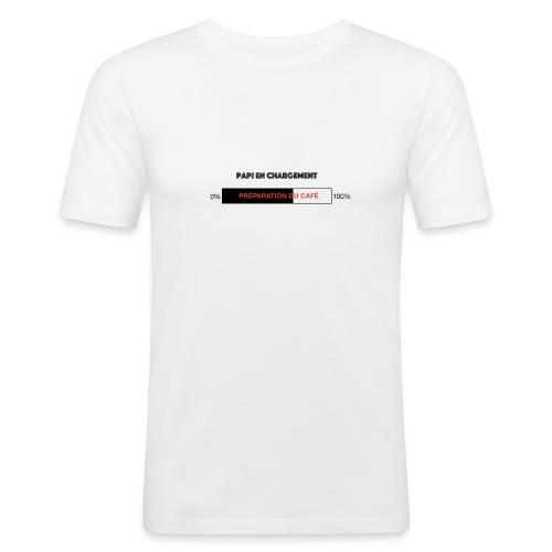 Papi en chargement - T-shirt près du corps Homme