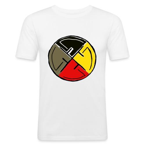 Twomanrule - Elements - Männer Slim Fit T-Shirt