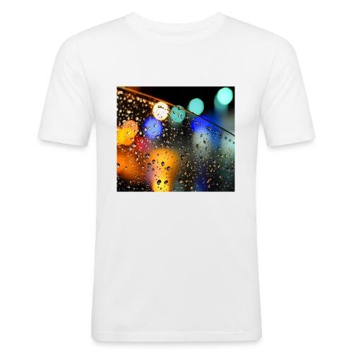 Abstract - Camiseta ajustada hombre