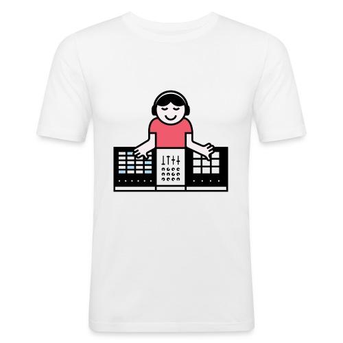 Ableto DJ - Mannen slim fit T-shirt