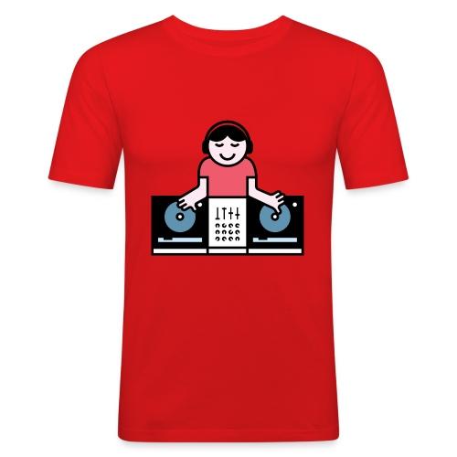 CDJ DJ - Mannen slim fit T-shirt