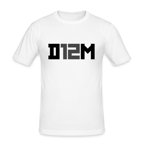 D12M: SHORT BLACK - slim fit T-shirt