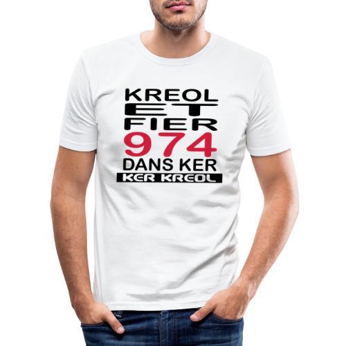 Kreol et Fier dans Ker - T-shirt près du corps Homme