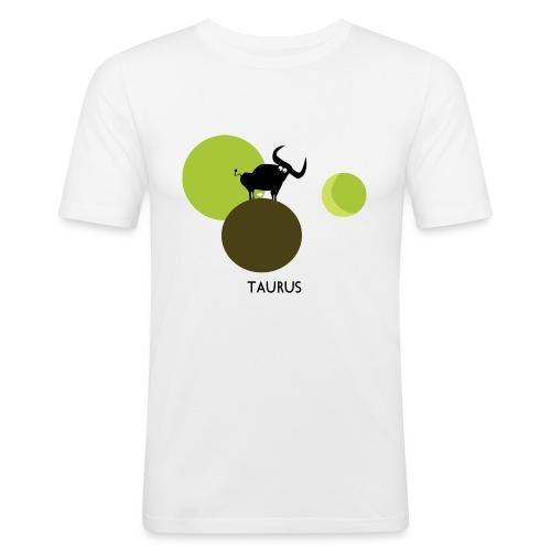 Unconventional zodiac :taurus - Maglietta aderente da uomo