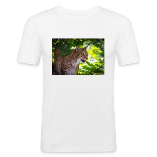 Luchs - Männer Slim Fit T-Shirt
