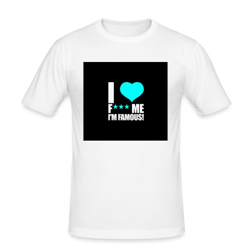 I Love FMIF Badge - T-shirt près du corps Homme